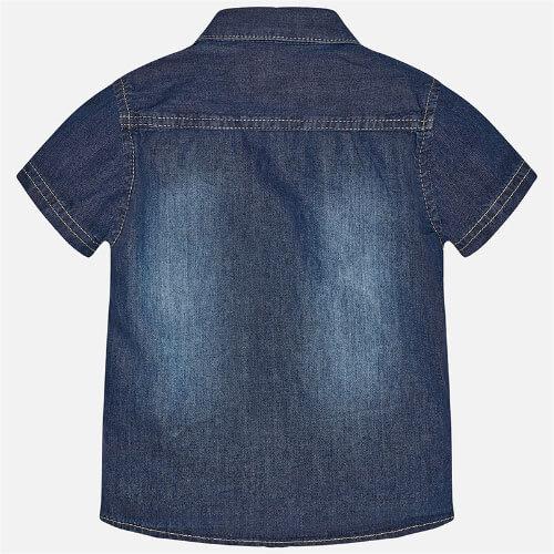 Camicia maciche corte jeans-Art : 1153