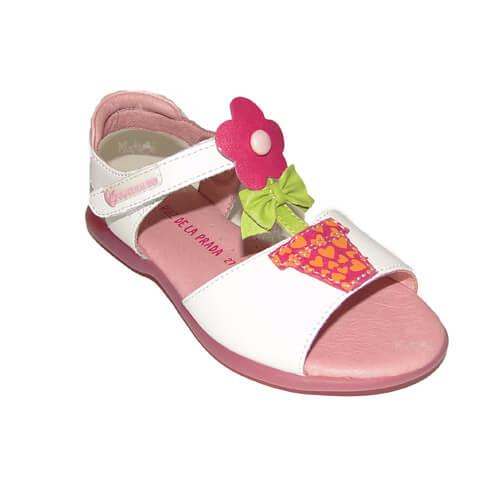 Sandalo bambine con vaso fiore Art : 132943