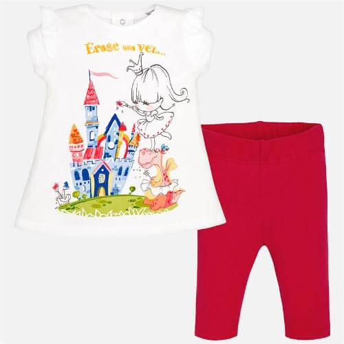 Completo leggings castello Mayoral
