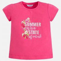 Semplice maglietta bambina Mayoral Art:3032