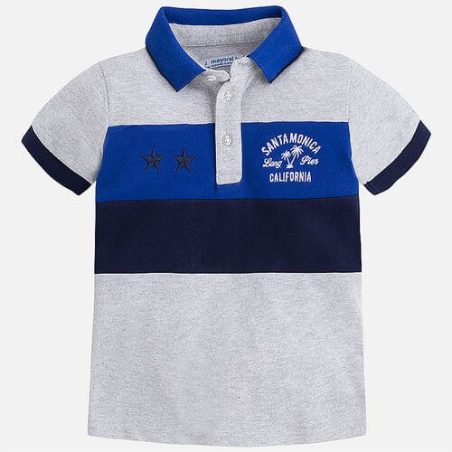 Comoda polo in cotone Mayoral Art:3136