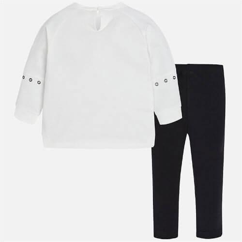 Completo felpa e pantalone bambina Art 4710