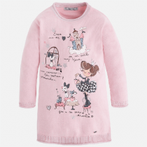 Vestito bambina in tricot Art 4937