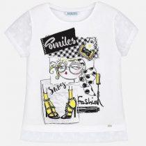 Maglietta manica corta e spacchetti Art:6028