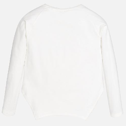 Maglietta manica lunga con fondo a punta Art 7047