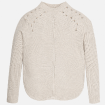 Maglioncino in tricot con strass Art 7309