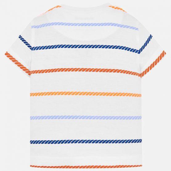 Maglietta girocollo bambino 6 a 24 Mesi.