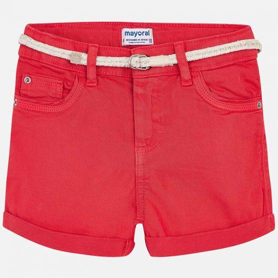 Short bambina con cintura Art 275