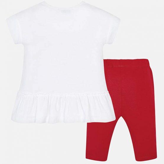 Completo maglietta e leggings bambina
