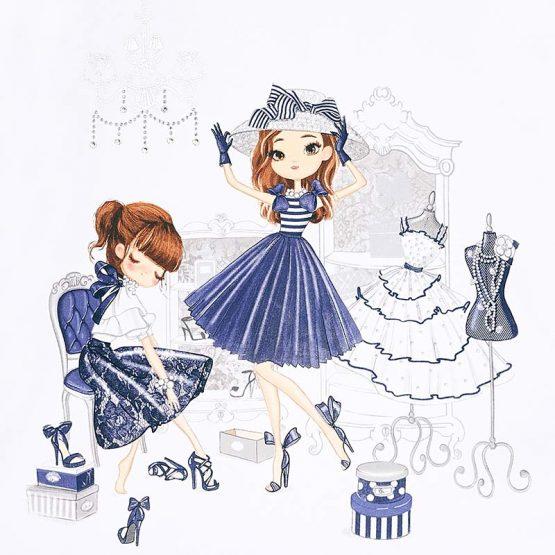 Vestito bambole bambina 3 a 9 Anni Mayoral