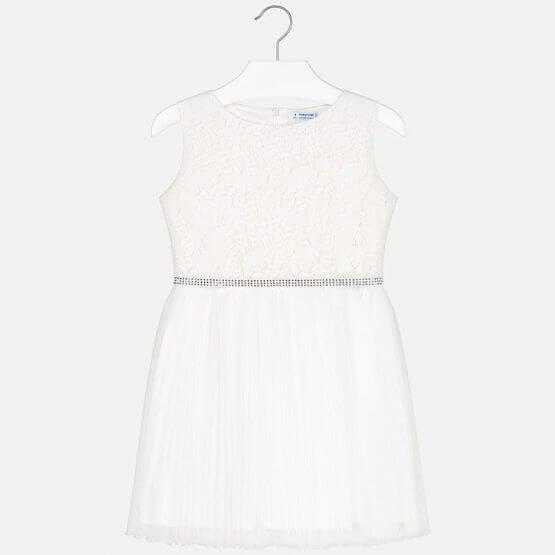 Vestito plissettato bambina Art 6915