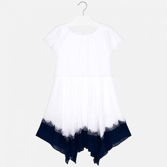 Vestito bicolor bambina Art 6945