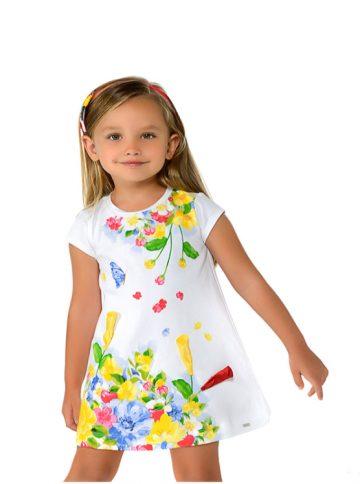 Vestito disegno bambina 3 a 9 Anni Mayoral