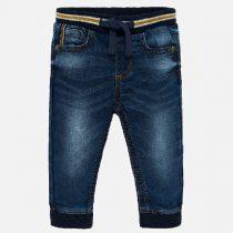 Jeans con polsini jogger bambino Art 2537