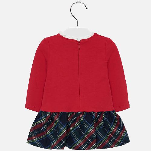 Vestito fiocco bambina Mayoral 6 a 24 Mesi