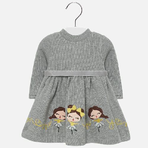 Vestito con ricamo bambina Art 2928