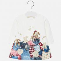 Vestito stampato bambina Art 2934