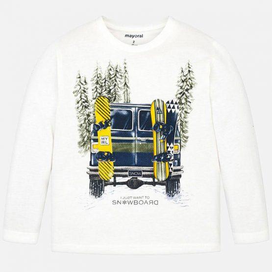 Maglietta macchina bambino Art 4026