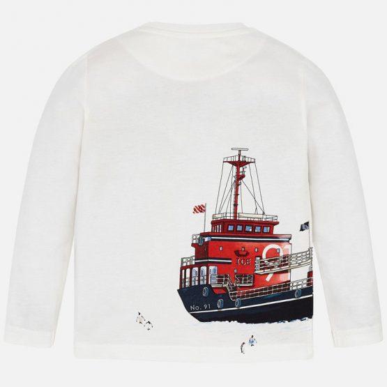 Maglietta manica lunga barca bambino 3 a 9 Anni Mayoral
