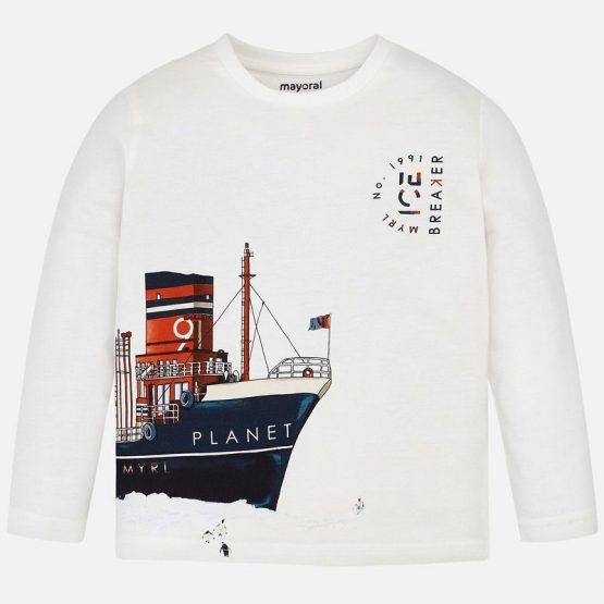 Maglietta manica lunga barca Art 4036