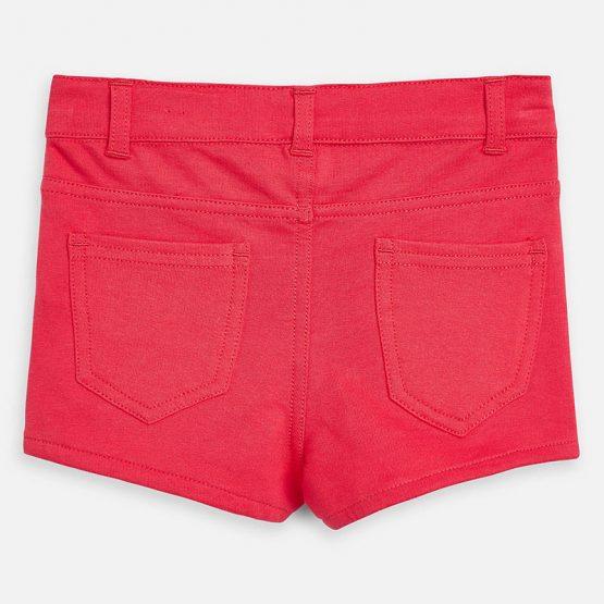 Pantalone corto modello shorts per bambina