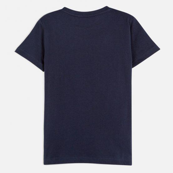 Maglietta manica corta disegno ragazzo