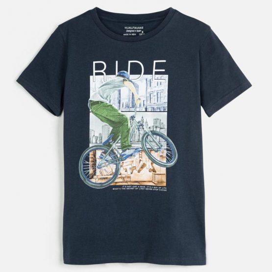 Maglietta manica corta bici ragazzo